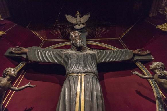 Volto Santo di Lucca, VIII-IX sec. d.C, Cattedrale di Lucca Courtesy: foto Lucio Ghilardi