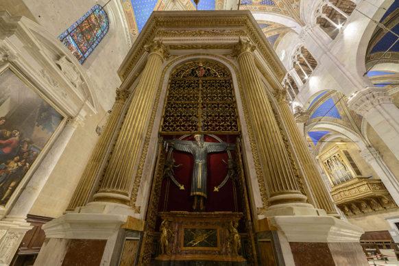 Volto Santo di Lucca, VIII-IX sec. d.C, Cattedrale di Lucca Courtesy: Tecnoservice, photo Luca Lupi
