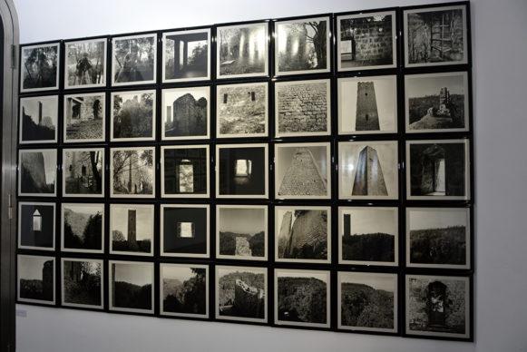 """Vista dell'allestimento della mostra """"Ti impediranno di splendere. E tu splendi invece. Pier Paolo Pasolini Foto di Dino Pedriali"""". Foto Carlo Bellincampi"""