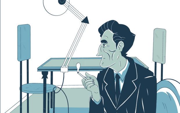 Marcel Duchamp. Una vita ready made, Centauria 2020, dettaglio della copertina