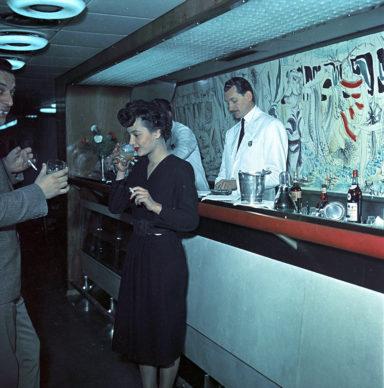 Elettrotreno ETR 300 Settebello, bar (1952) - Foto Archivio Fondazione FS Italiane