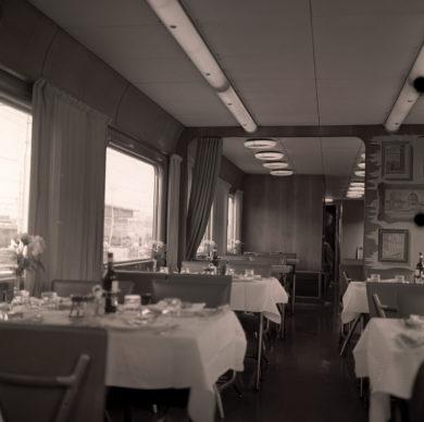 Elettrotreno ETR 300 Settebello, ristorante (1967) - Foto Archivio Fondazione FS Italiane