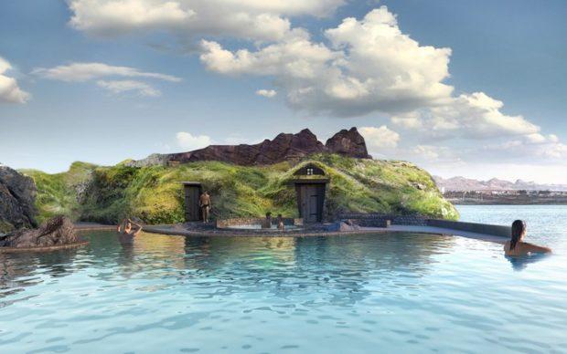 Sky Lagoon by Pursuit, rendering