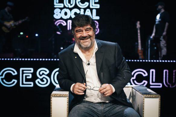 Francesco Pannofino, ospite dell'undicesima puntata di Luce Social Club