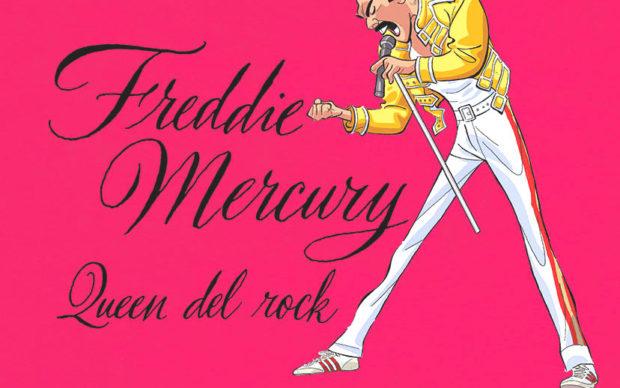 Freddie_Mercury,_Queen_del_rock_-_PuscedduFerrario__Edizioni_EL, dettaglio della copertina
