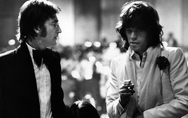 Ron Galella, John Lennon and Mick Jagger, Los Angeles, 1974 © Ron Galella / Courtesy Staley-Wise Gallery, New York