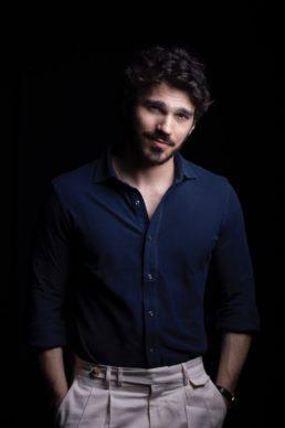 Giuseppe Maggio, ospite della decima puntata di Luce Social Club