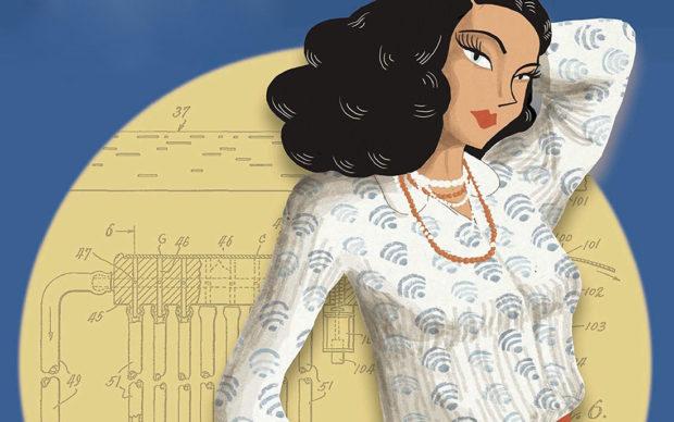 Hedy Lamarr la donna più straordinaria del mondo di William Roy Sylvain Dorange BD Edizioni 2020