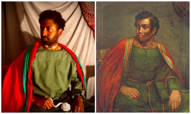 Henry P. Briggs, Ira Aldridge as Othello (c. 1830). One of the greatest Shakespearean actors of his age – but he was black. Unable to work in America, he moved to England in the 1820s. Rediscovering #blackportraiture through #gettymuseumchallenge