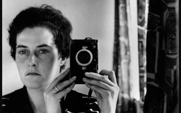 Inge Morath, Autoscatto, Gerusalemme 1958, © Fotohof archiv Inge Morath Magnu Photos
