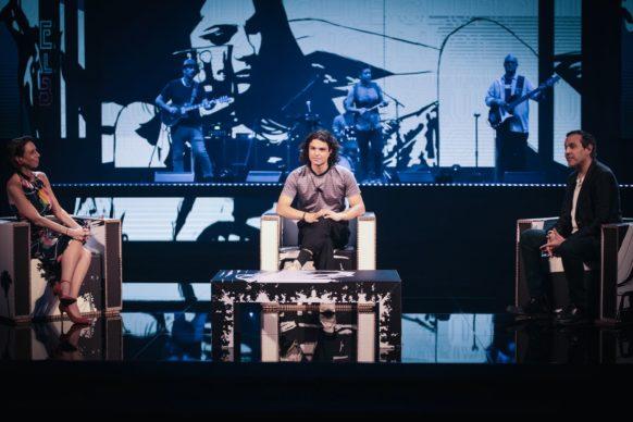 Leo Gassmann, ospite della nona puntata di Luce Social Club