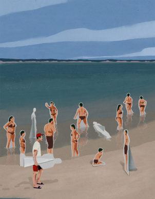 Una illustrazione di Nicola Magri. Courtesy l'artista