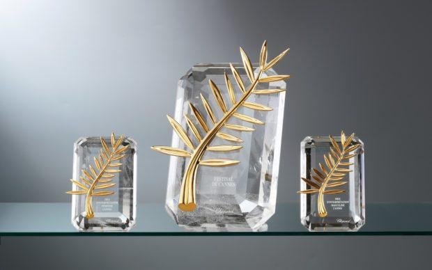 Palme d'Or, image credit Festival de Cannes