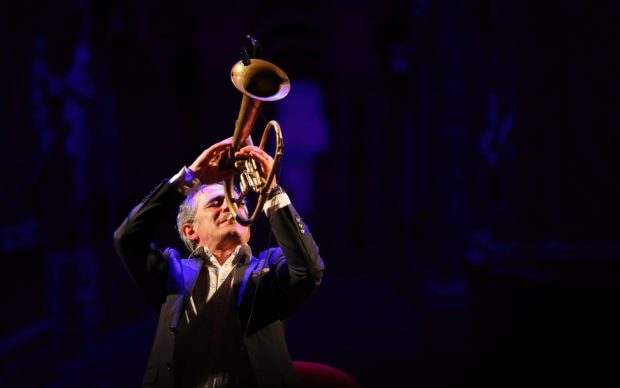 Paolo Fresu al Teatro Olimpico - Vicenza Jazz 2019. Photo Roberto De Biasio