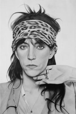 Patti Smith - Alessandra Di Girolamo. Courtesy l'artista
