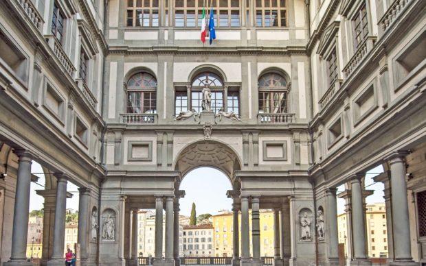 Uffizi, courtesy Gallerie degli Uffizi