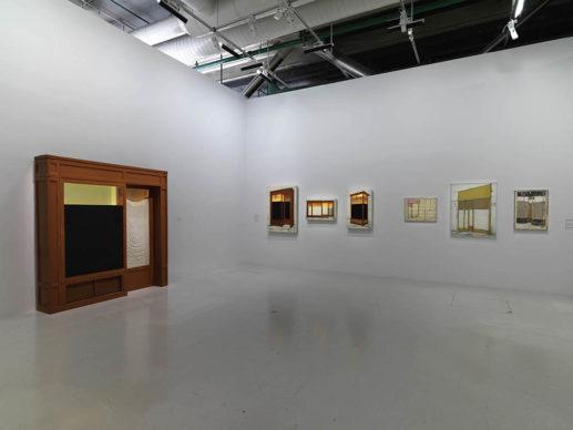 Vista dell'allestimento della mostra Christo and Jeanne-Claude, Paris! (c) Centre Pompidou – Audrey Laurans