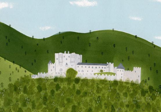Una illustrazione di Giorgia Pallaoro. Courtesy l'artista