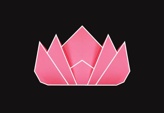La grafica che accompagna il progetto The Lotus Effect,courtesy of the Rubin Museum of Art