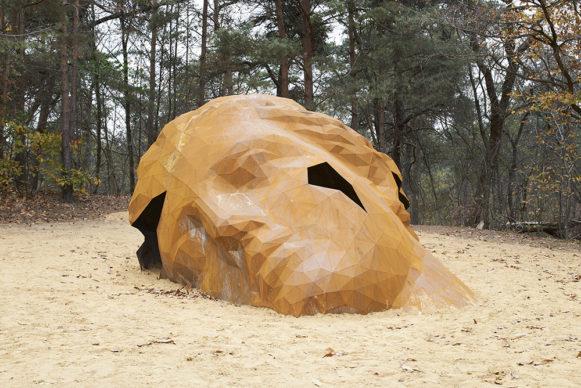 "Photo credits ""A Giant Sculpture"" by Gijs Van Vaerenbergh © Matthijs van der Burgt"