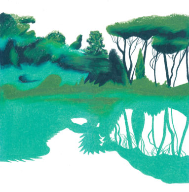 Una illustrazione di Antonio Pronostico. Courtesy l'artista