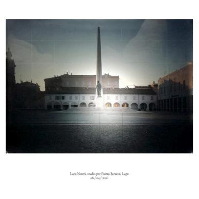 Piazze [In]visibili | Piazza Baracca, Lugo Fotografia di Luca Nostri, 8 aprile 2020 ©2020 MAECI - Punctum Press