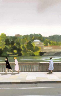 """La copertina di Manuele Fior per il libro """"Tra donne sole"""" di Cesare Pavese (Einaudi). Courtesy l'artista"""