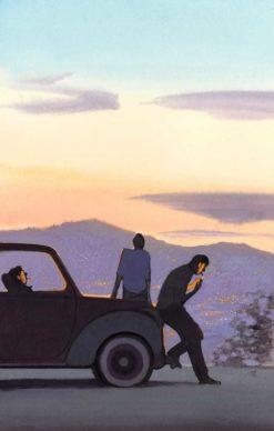 """La copertina di Manuele Fior per il libro """"Il diavolo sulle colline"""" di Cesare Pavese (Einaudi). Courtesy l'artista"""