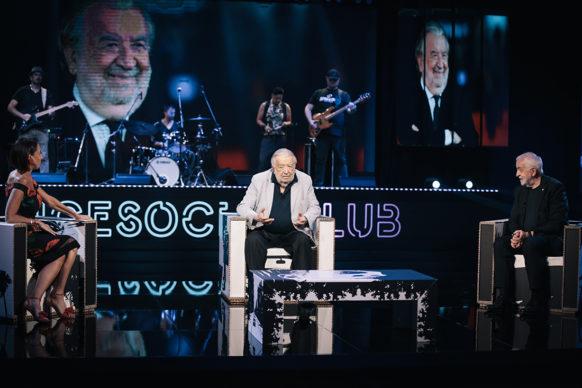 Pupi Avati, ospite della diciottesima puntata di Luce Social Club