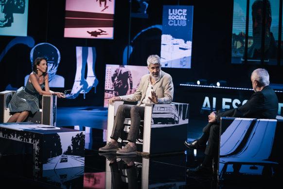 Alessandro Benvenuti, ospite della diciassettesima puntata di Luce Social Club