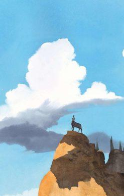 """La copertina di Manuele Fior per il libro """"Dialoghi con Leucò"""" di Cesare Pavese (Einaudi). Courtesy l'artista"""