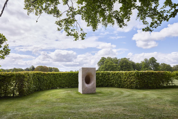 Sophia, 2003, marble. Courtesy the artist. © Anish Kapoor. All rights reserved DACS, 2020 Photo: Pete Huggins