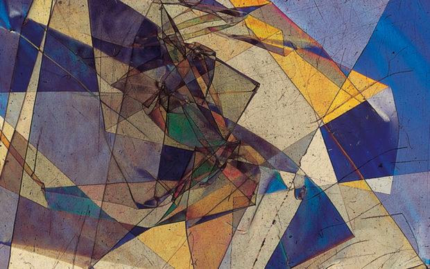 Bruno Munari. Vetrini a luce polarizzata, 1953. Materiali vari. Courtesy Miroslava Hajek