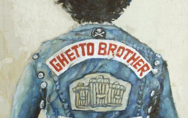 Ghetto Brothers Una leggenda del Bronx Julian Voloj Claudia Ahlering ADD Editore, dettaglio della copertina