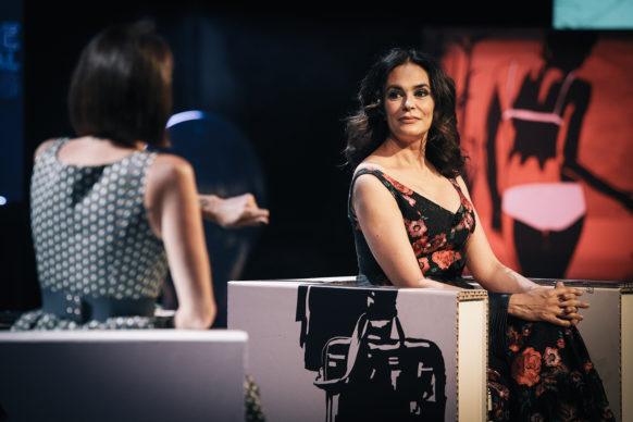 Maria Grazia Cucinotta, ospite della diciassettesima puntata di Luce Social Club