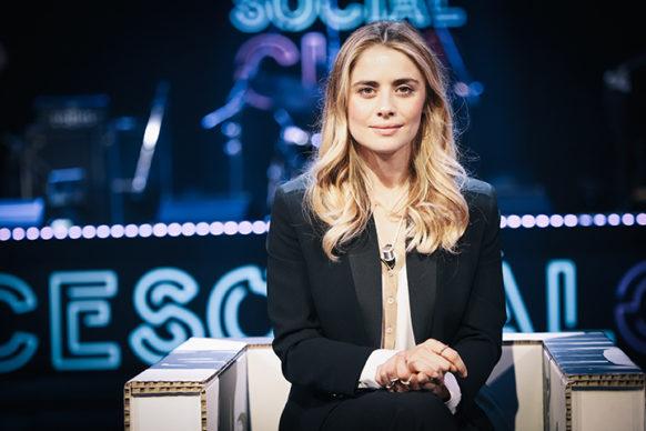 Greta Scarano, ospite della diciottesima puntata di Luce Social Club