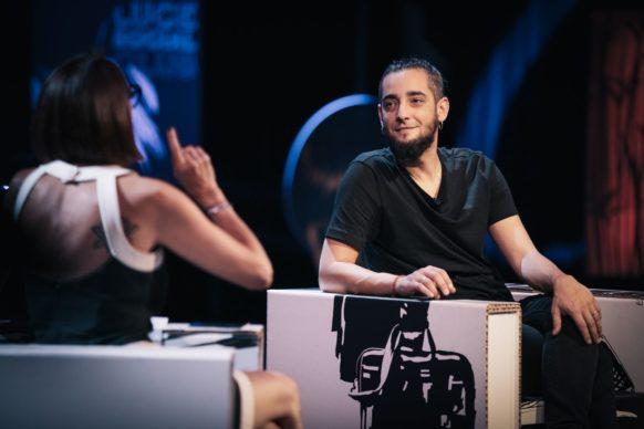 Lucio Leoni, ospite della sedicesima puntata di Luce Social Club