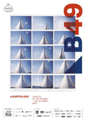 Manifesto 49a Barcolana, 2017 by Maurizio Galimberti