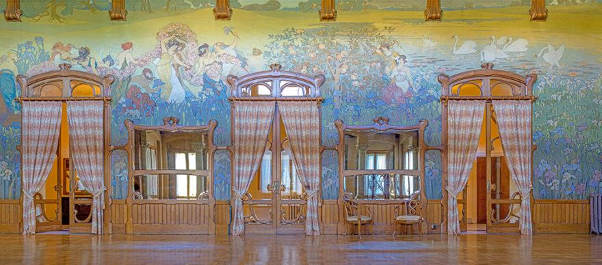 Art Nouveau Week 2020, Palermo, Villa Igiea. Foto © Wolfgang Moroder. Immagine di repertorio Ass. Italia Liberty