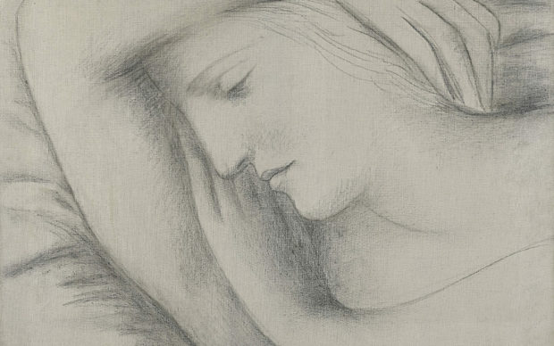 Pablo Picasso, Femme endormie. Credit Sotheby's