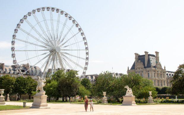 Tuileries, photo by Kirsten Drew on Unsplash
