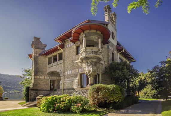 Art Nouveau Week 2020, Sarnico, Villa Giuseppe Faccanoni. Foto © Sergio Ramari. Immagine di repertorio Ass. Italia Liberty