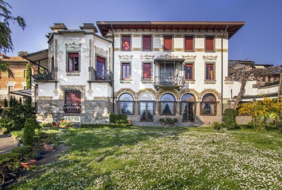 Art Nouveau Week 2020, Sarnico, Villa Passeri. Foto © Sergio Ramari. Immagine di repertorio Ass. Italia Liberty