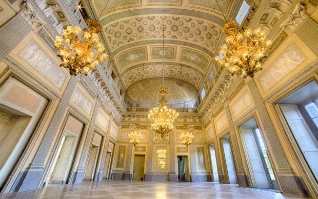 Salone d'onore Reggia di Monza, Foto di Mario Donadoni ©Archivio Consorzio Villa Reale e Parco di Monza