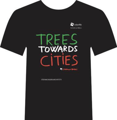 Architetti per Milano, la t-shirt disegnata da Stefano Boeri Architetti. Courtesy Urbanfile