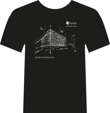 Architetti per Milano, la t-shirt disegnata da A.Femia. Courtesy Urbanfile
