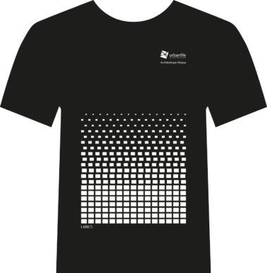 Architetti per Milano, la t-shirt disegnata da LABICS. Courtesy Urbanfile