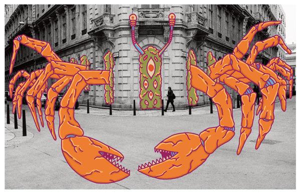 Una illustrazione di Davide Bart Salvemini. Fotografia di Fabio Bacci