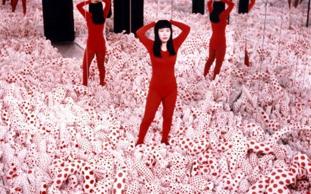 Yayoi Kusama, Infinity Mirror Room – Phalli's Field, 1965 Installation, Mixed Media. YAYOI KUSAMA, courtesy Ota Fine Arts, Victoria Miro & David Zwirner