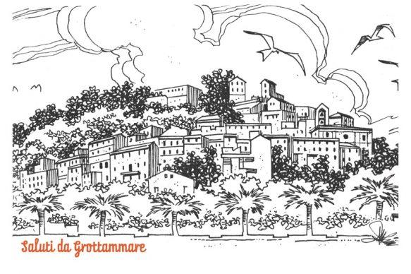 Progetto Saluti da Grottammare, la cartolina di Angelo Maria Ricci, 2016